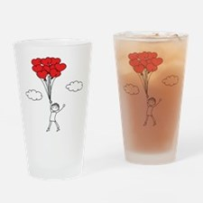 Boy With Heart Drinking Glass