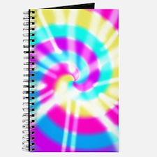 Tye Dye Pattern Journal