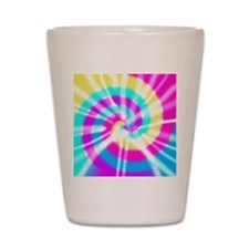 Tye Dye Pattern Shot Glass