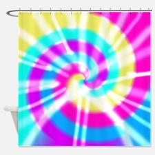 Tye Dye Pattern Shower Curtain