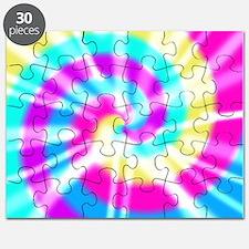 Tye Dye Pattern Puzzle