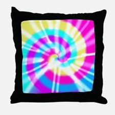 Tye Dye Pattern Throw Pillow
