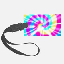 Tye Dye Pattern Luggage Tag