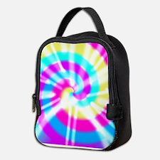 Tye Dye Pattern Neoprene Lunch Bag