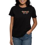 Tattoo Roses Women's Dark T-Shirt