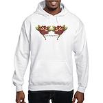Tattoo Roses Hooded Sweatshirt