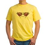 Tattoo Roses Yellow T-Shirt