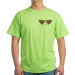 Tattoo Roses Green T-Shirt