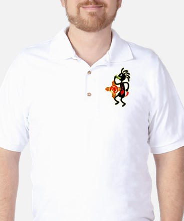 KOKAPELI CHILE LOVE Golf Shirt