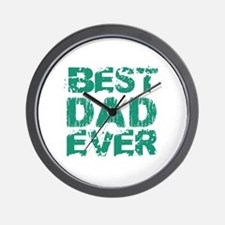 Best Dad Ever 05 Wall Clock