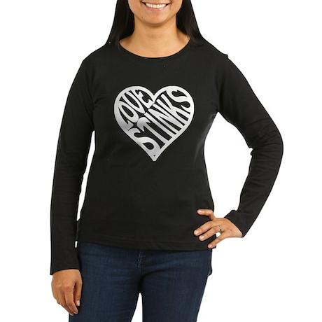 Lovestinks_dk.png Long Sleeve T-Shirt