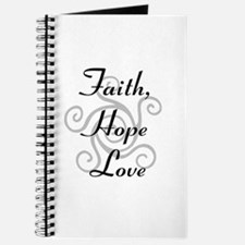 Faith, Hope,Love Journal