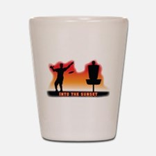 Into the Sunset Shot Glass