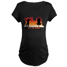 Into the Sunset Maternity T-Shirt