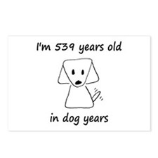77 dog years 6 - 2 Postcards (Package of 8)