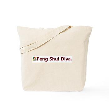 Feng Shui Diva Tote Bag