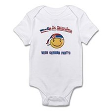 Made in America with Serbian part's Infant Bodysui