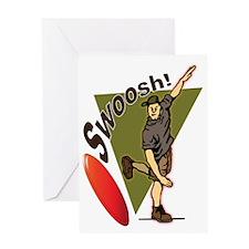 Swoosh! Greeting Cards