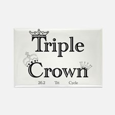 Triple Crown Rectangle Magnet