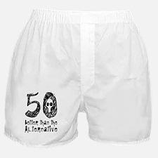 50 Years Skull Black Boxer Shorts