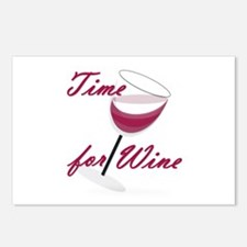 Time for Wine Postcards (Package of 8)