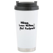 Nothing But Footprints Travel Mug