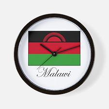 Malawi - Flag Wall Clock