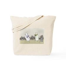 Zombie Sheep Tote Bag