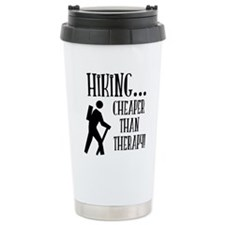 Cheaper Than Therapy Travel Mug