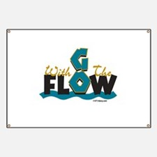 Go With the Flow Banner