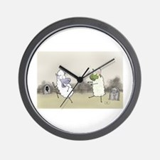 Zombie Sheep Wall Clock