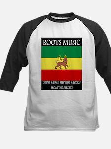 Roots-Music-Flag-Ethiopia-iPad Baseball Jersey