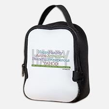 Happy Neoprene Lunch Bag