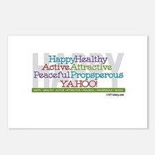 Happy Postcards (Package of 8)
