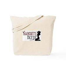Naughty Bettie Tote Bag