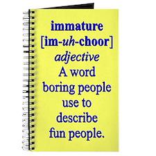 IMMATURE Journal