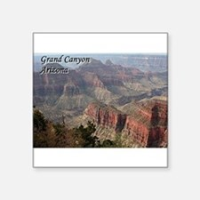 Grand Canyon, Arizona 2 (with caption) Sticker