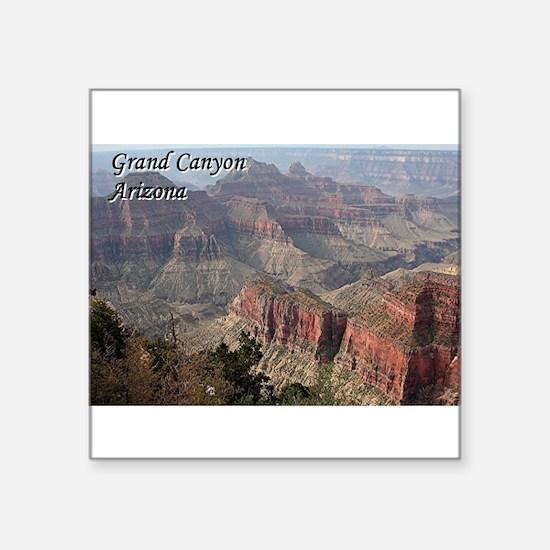Grand Canyon, Arizona 2 (with caption) Sticker