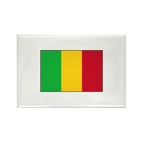 Mali Flag Rectangle Magnet