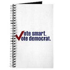 Vote Smart Vote Democrat Journal