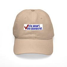 Vote Smart Vote Democrat Baseball Cap