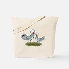 Polish Splash Chickens Tote Bag