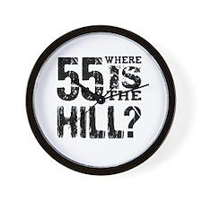 55th hill Wall Clock