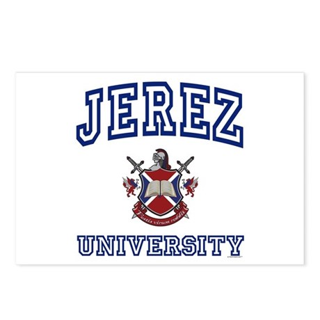 JEREZ University Postcards (Package of 8)