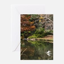 Duckpond Scene Greeting Cards