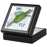 Bar Fly Drinking Keepsake Box
