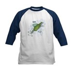 Bar Fly Drinking Kids Baseball Jersey