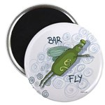 "Bar Fly Drinking 2.25"" Magnet (10 pack)"