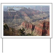 Grand Canyon, Arizona 2 (with caption) Yard Sign