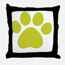 dog paw 13  Throw Pillow